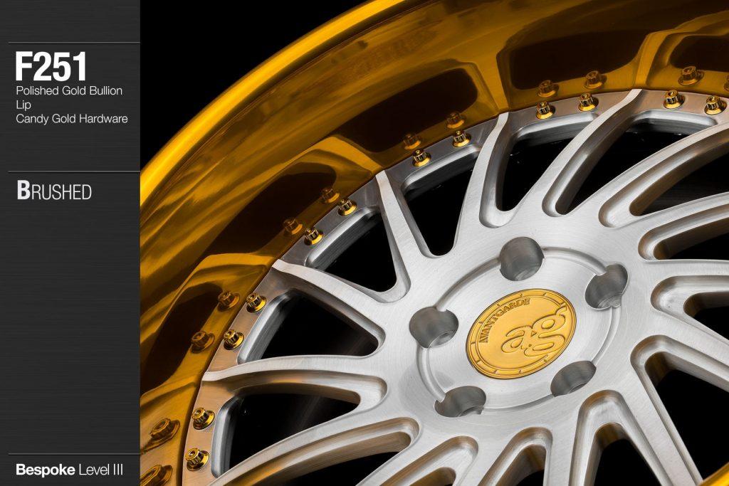 avant-garde-ag-wheels-f251-brushed-face-polished-gold-bullion-lip-candy-hardware-2-min