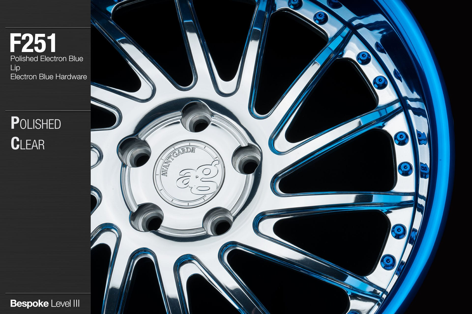 avant-garde-ag-wheels-f251-polished-clear-face-polished-electron-blue-lip-hardware-2-min