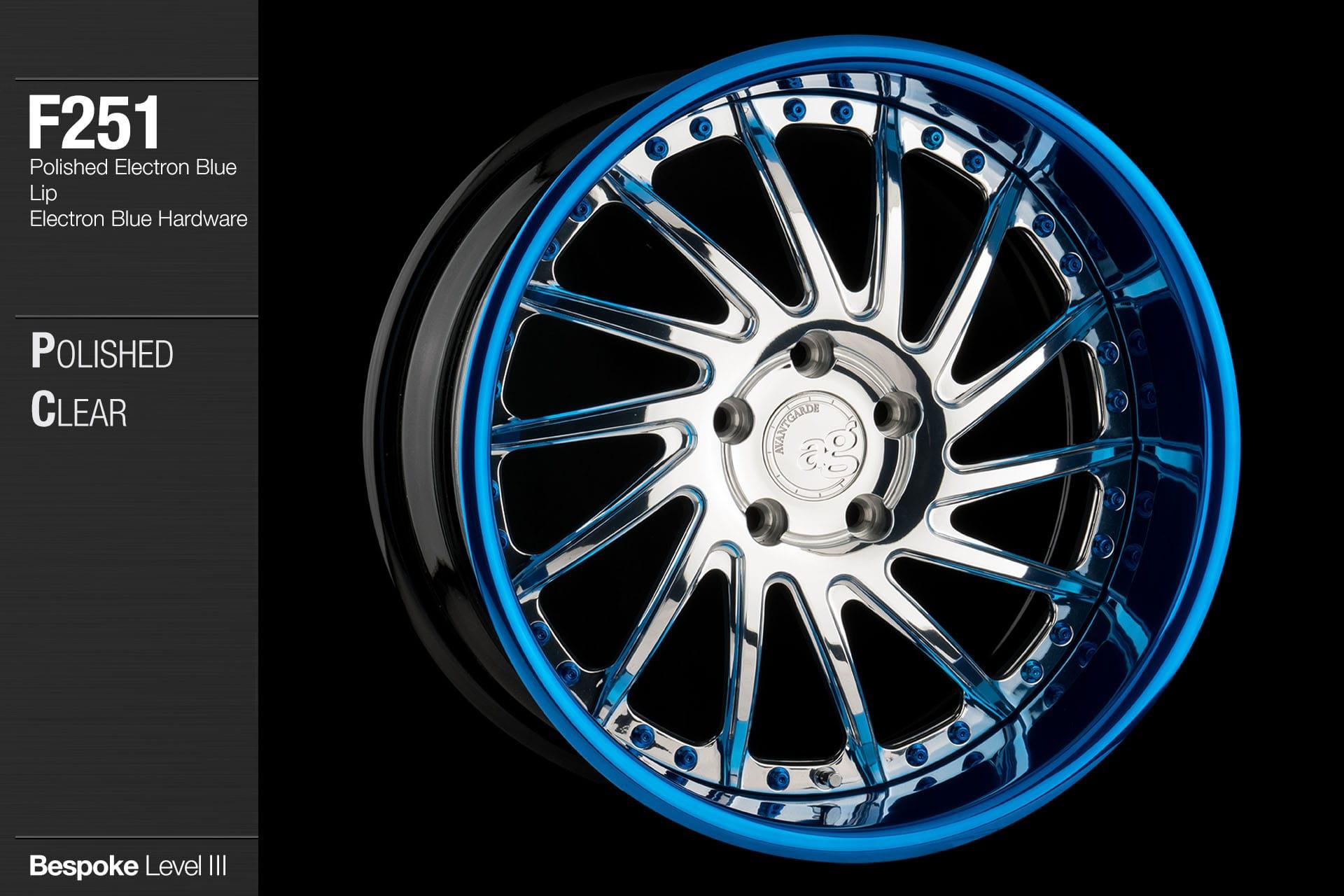 avant-garde-ag-wheels-f251-polished-clear-face-polished-electron-blue-lip-hardware-4-min