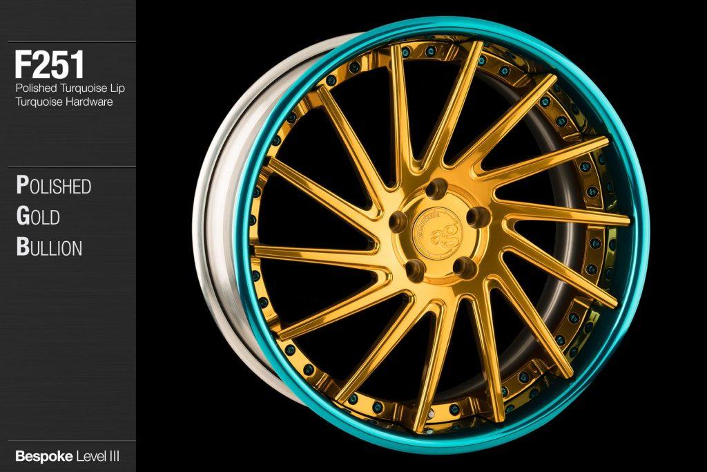 avant-garde-ag-wheels-f251-polished-gold-bullion-face-polished-turquoise-lip-hardware-4-min