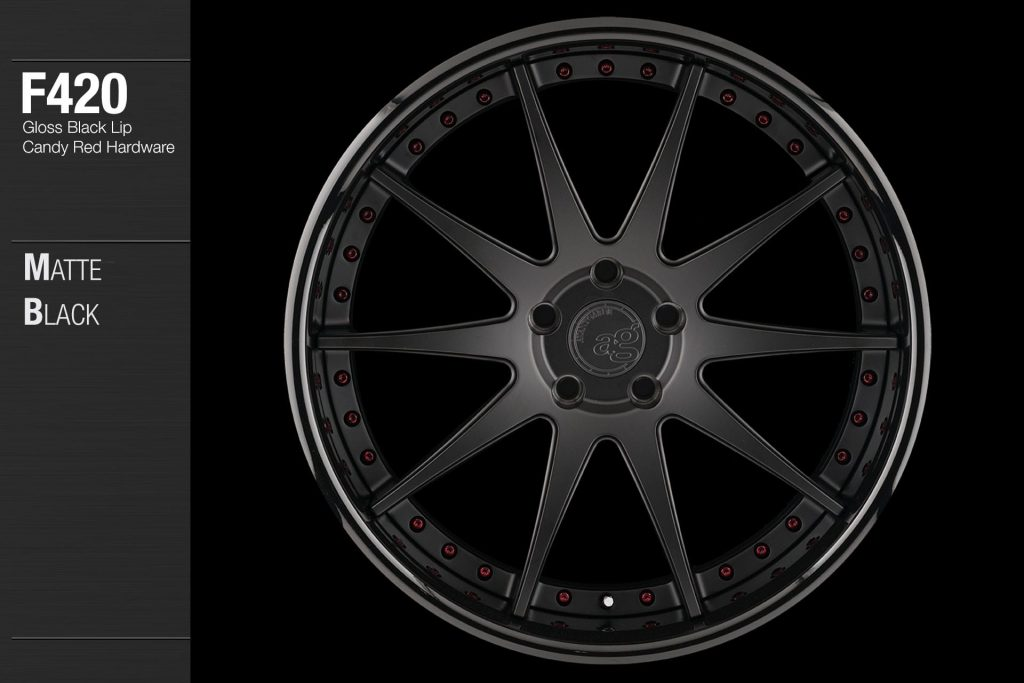 avant-garde-ag-wheels-f420-matte-black-face-gloss-black-lip-candy-red-hardware-1-min