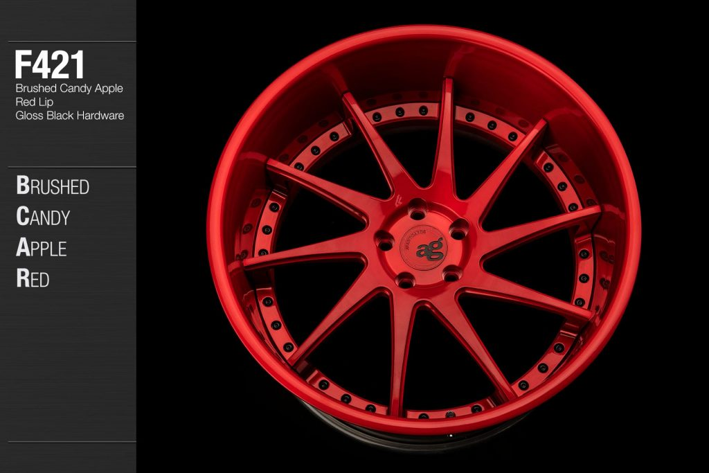 avant-garde-ag-wheels-f421-brushed-candy-apple-red-face-lip-gloss-black-hardware-3-min