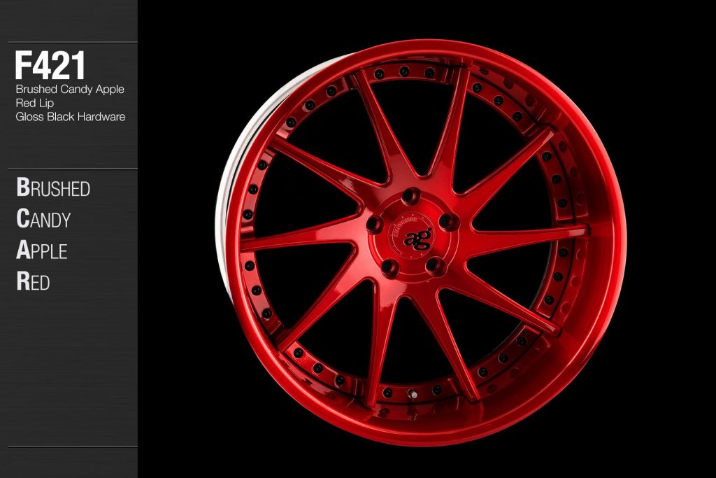 avant-garde-ag-wheels-f421-brushed-candy-apple-red-face-lip-gloss-black-hardware-4-min