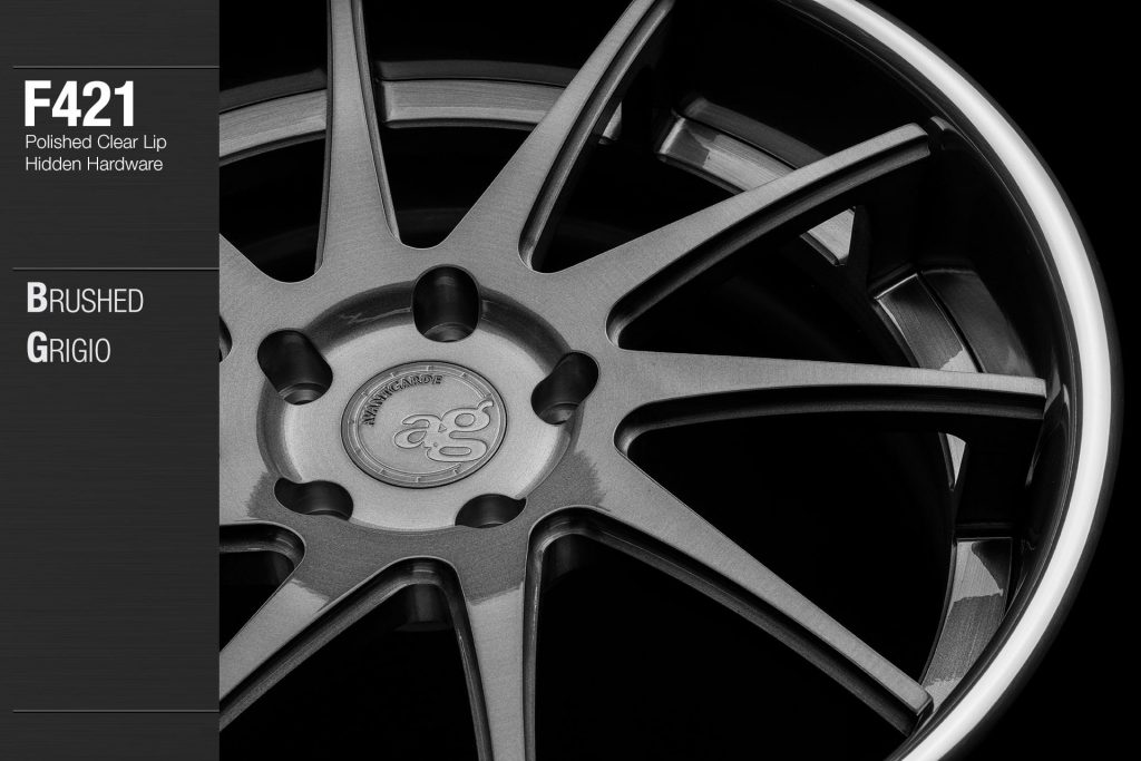 avant-garde-ag-wheels-f421-brushed-grigio--face-polished-clear-lip-hidden-hardware-2-min