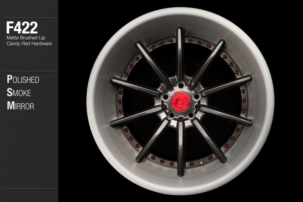 avant-garde-ag-wheels-f422-polished-smoke-mirror-face-matte-brushed-lip-candy-red-hardware-1-min