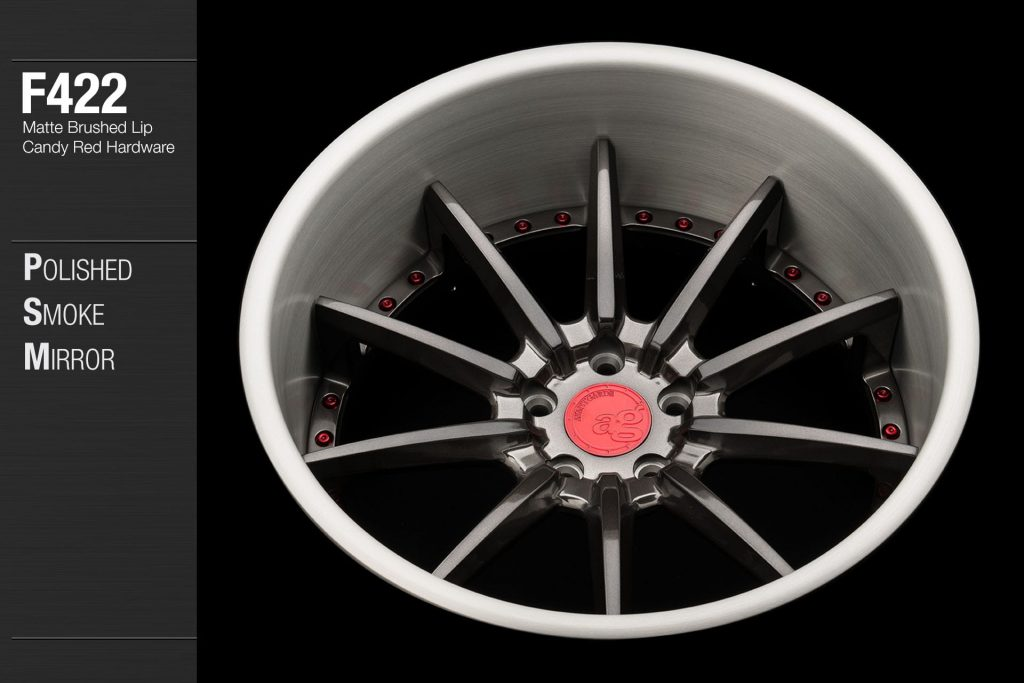 avant-garde-ag-wheels-f422-polished-smoke-mirror-face-matte-brushed-lip-candy-red-hardware-3-min