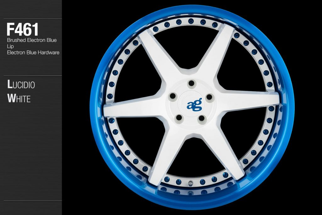 avant-garde-ag-wheels-f461-lucidio-white-face-brushed-electron-blue-lip-hardware-1-min