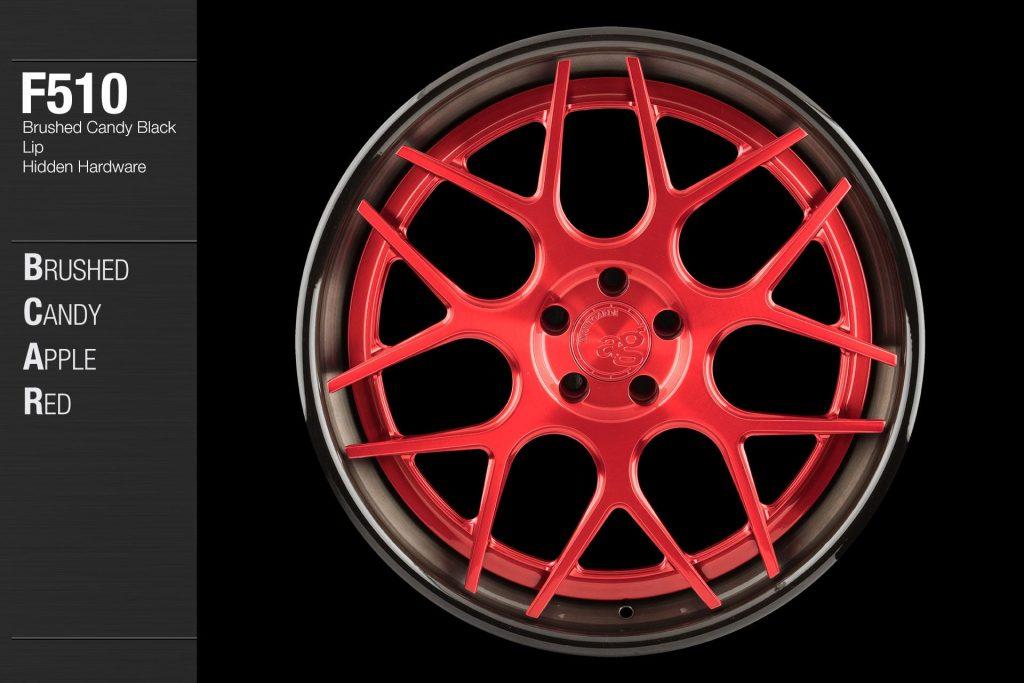 avant-garde-ag-wheels-f510-brushed-candy-apple-red-face-candy-black-lip-hidden-hardware-1-min
