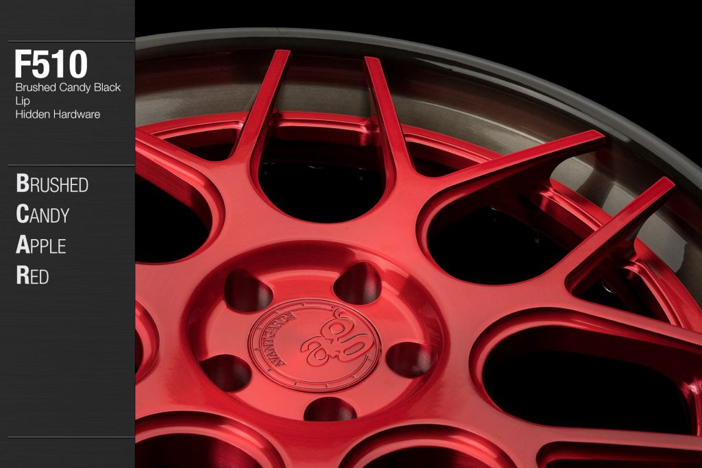 avant-garde-ag-wheels-f510-brushed-candy-apple-red-face-candy-black-lip-hidden-hardware-2-min