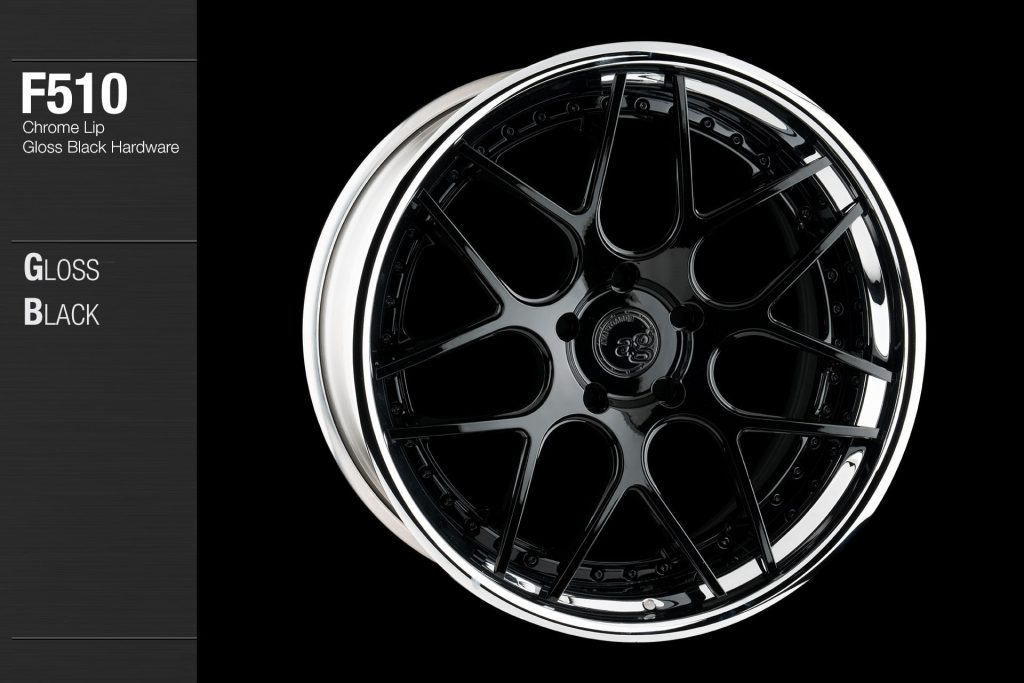 avant-garde-ag-wheels-f510-gloss-black-face-chrome-lip-hardware-4-min