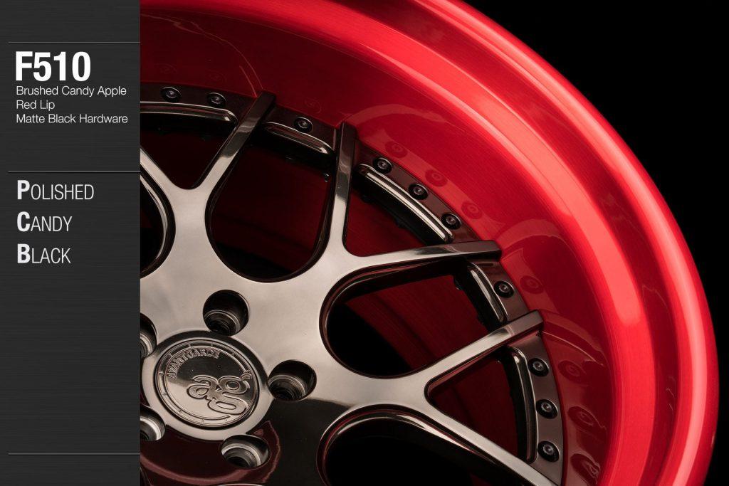 avant-garde-ag-wheels-f510-polished-candy-black-face-brushed-apple-red-lip-matte-hardware-2-min