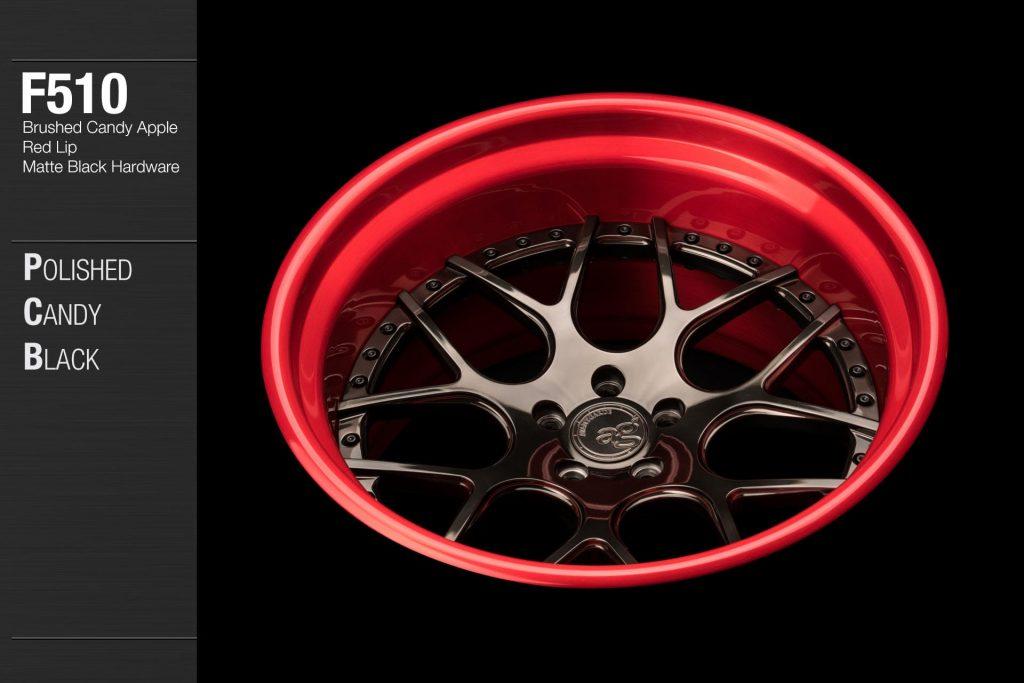 avant-garde-ag-wheels-f510-polished-candy-black-face-brushed-apple-red-lip-matte-hardware-3-min