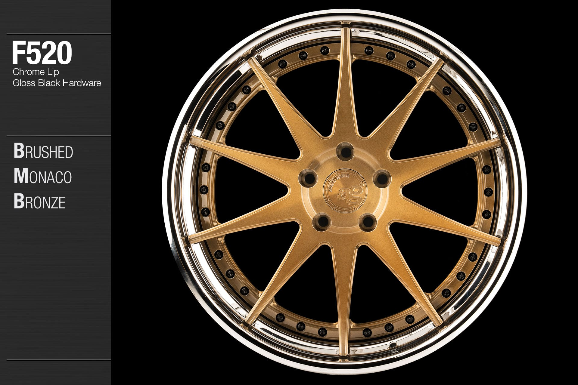 avant-garde-ag-wheels-f520-brushed-monaco-bronze-face-chrome-lip-gloss-black-hardware-1-min