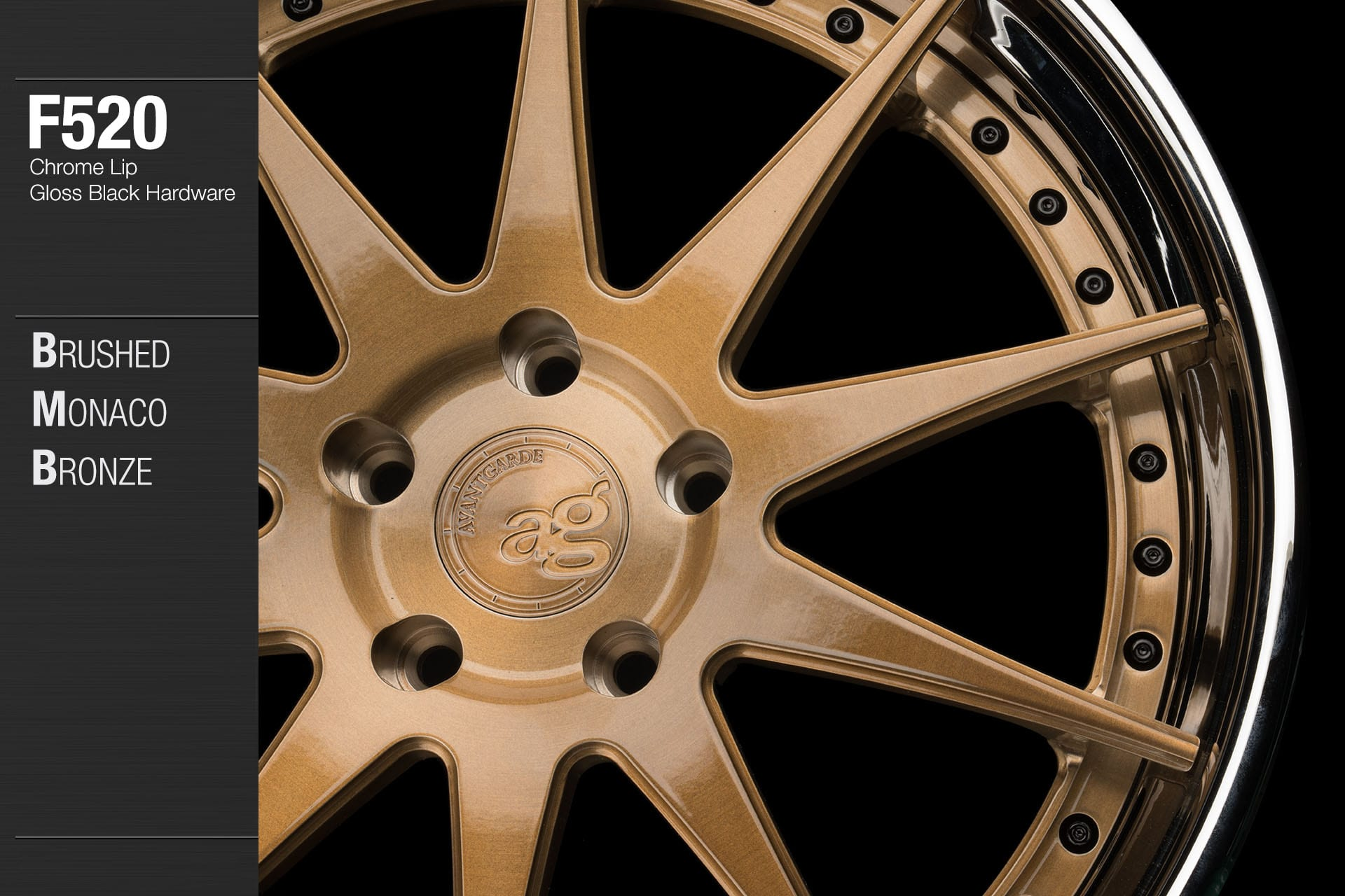 avant-garde-ag-wheels-f520-brushed-monaco-bronze-face-chrome-lip-gloss-black-hardware-2-min
