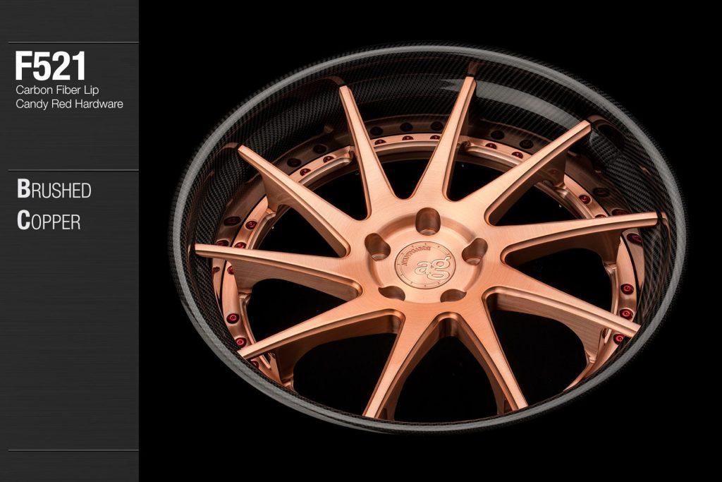 avant-garde-ag-wheels-f521-brushed-copper-carbon-fiber-lip-candy-red-hardware-3-min