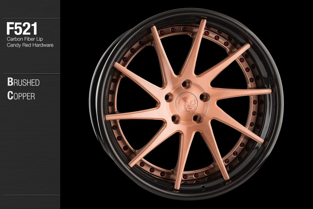 avant-garde-ag-wheels-f521-brushed-copper-carbon-fiber-lip-candy-red-hardware-4-min