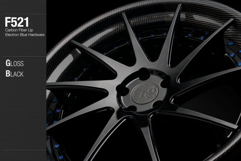 avant-garde-ag-wheels-f521-gloss-black-face-carbon-fiber-lip-electron-blue-hardware-2-min