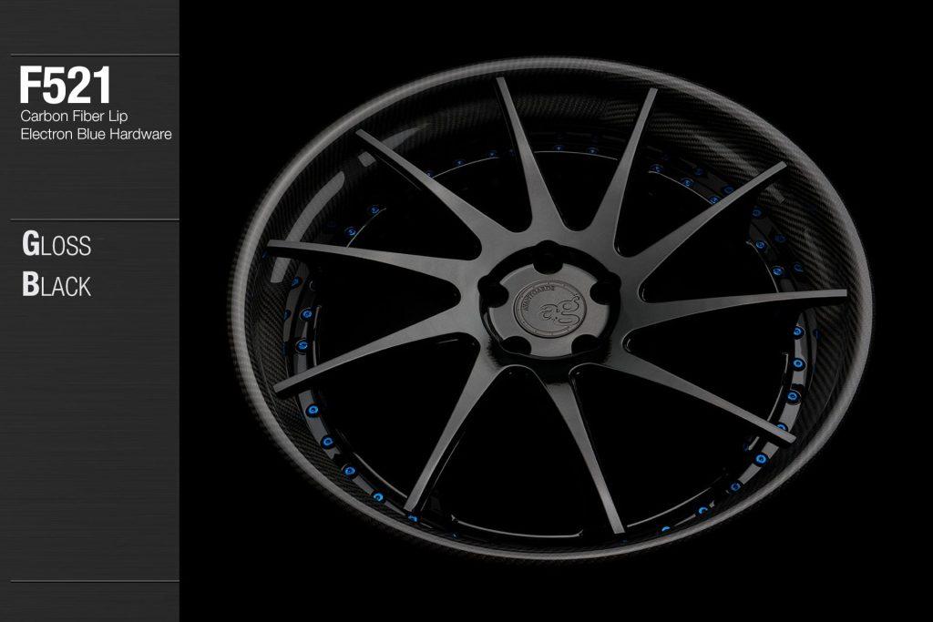 avant-garde-ag-wheels-f521-gloss-black-face-carbon-fiber-lip-electron-blue-hardware-3-min