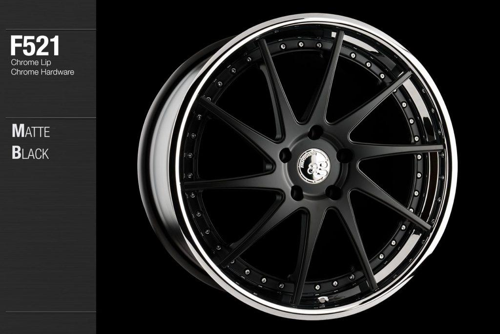 avant-garde-ag-wheels-f521-matte-black-face-chrome-lip-hardware-4-min