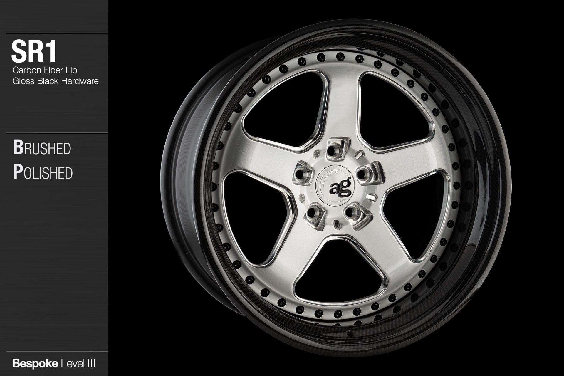 avant garde wheels agwheels sr1 ag sr series super register work meister sp3