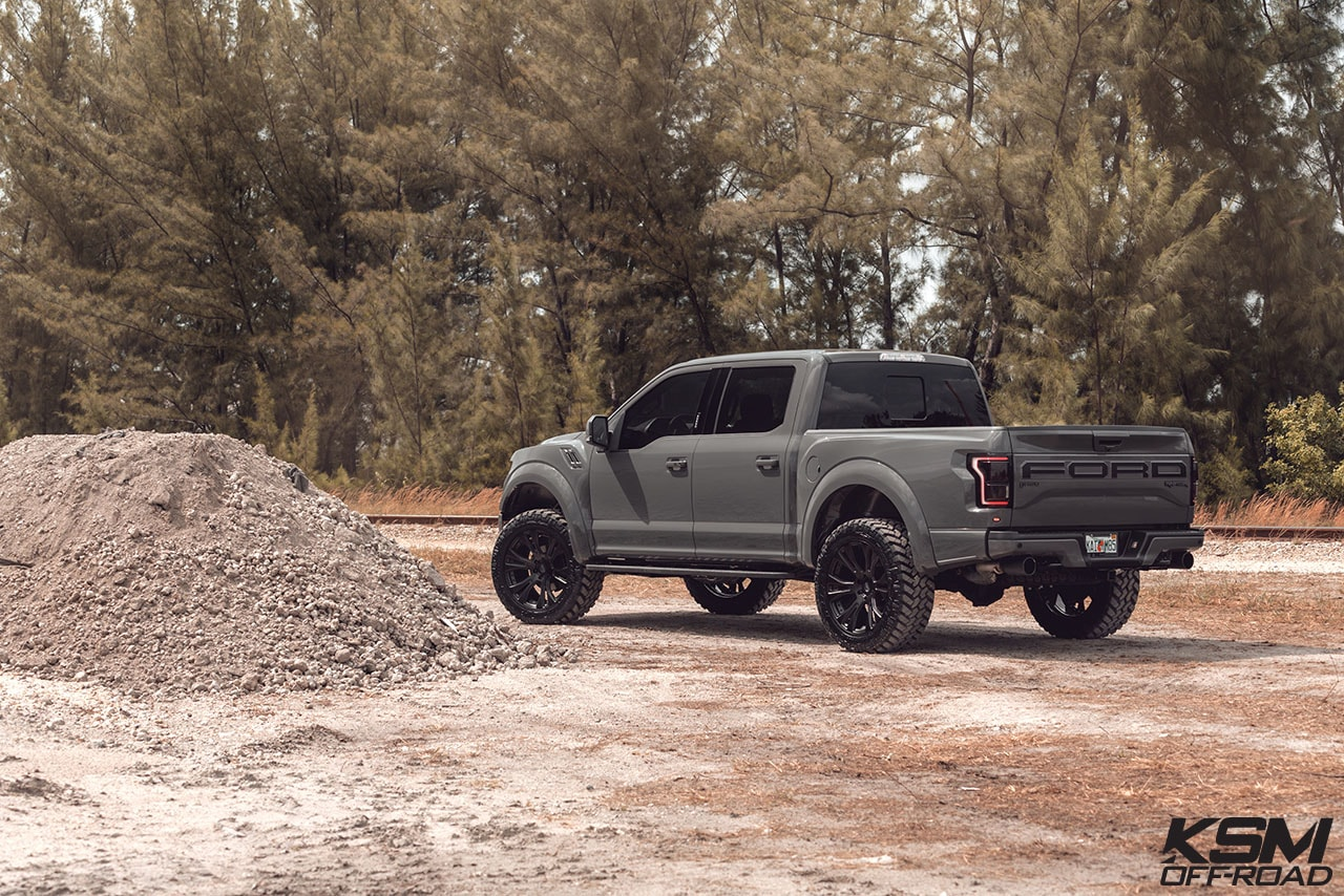 matte black offroad wheels truck suv ford raptor 20inch 20in 22in 22inch duoblock concave forged custom