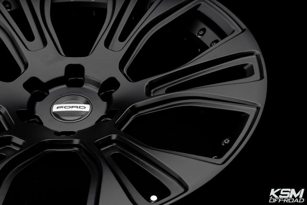 black offroad wheels rim truck 22inch ford raptor custom concave duoblock ksmoffroad