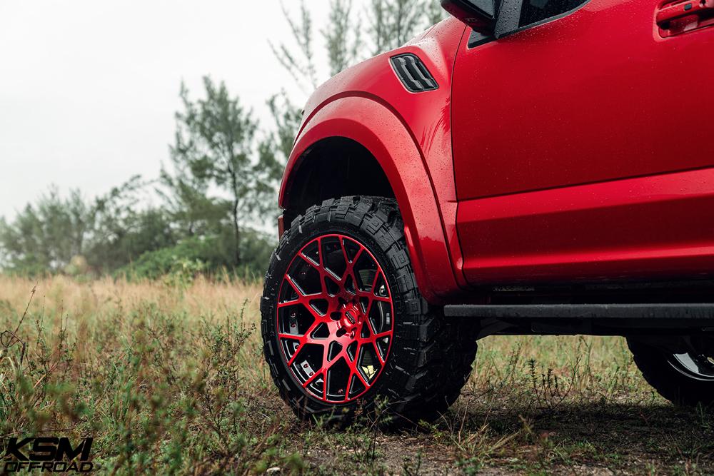 Red Ford Raptor KSM02 02