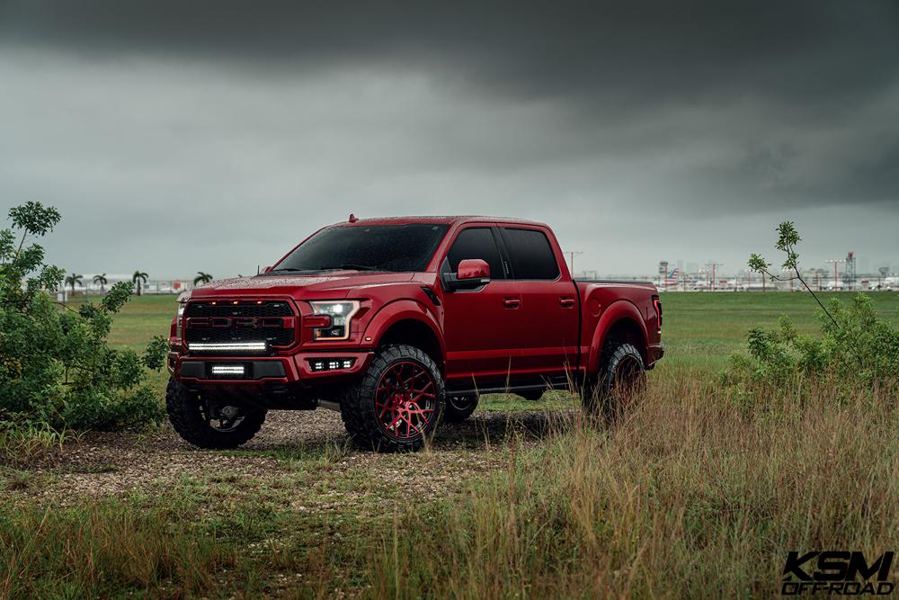 Red Ford Raptor KSM02 04