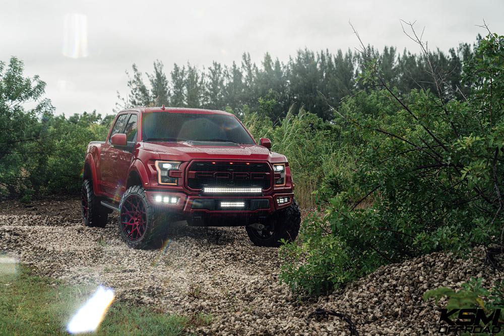 Red Ford Raptor KSM02 06
