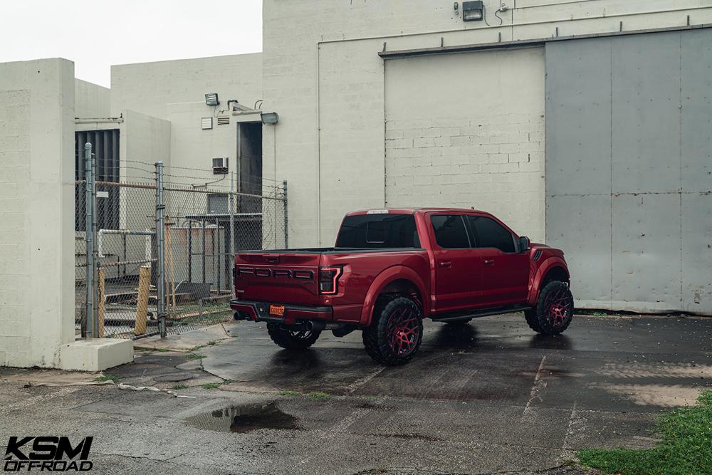 Red Ford Raptor KSM02 09