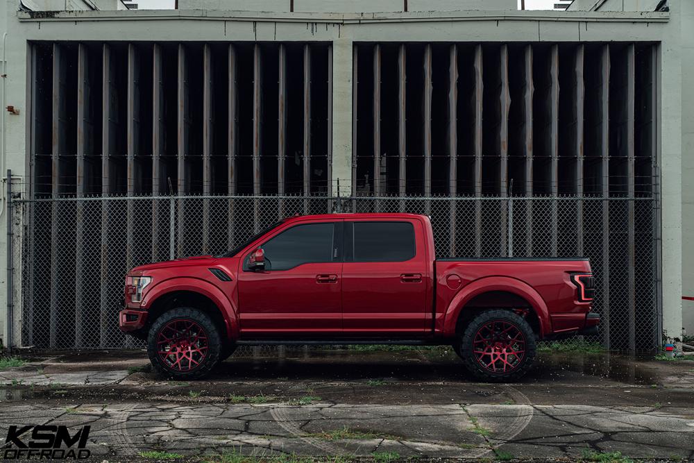 Red Ford Raptor KSM02 12