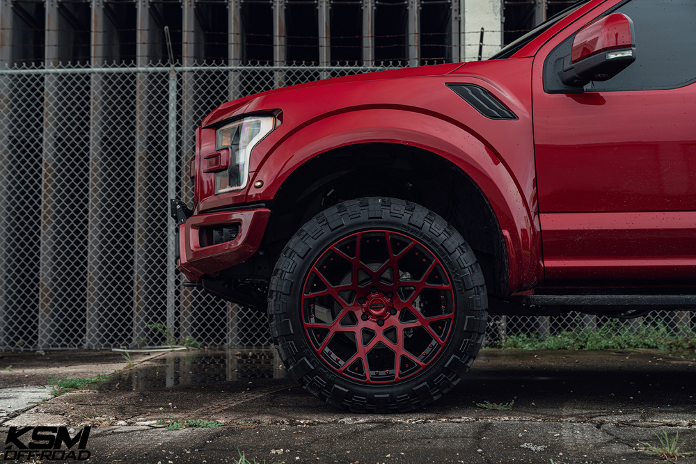 Red Ford Raptor KSM02 13