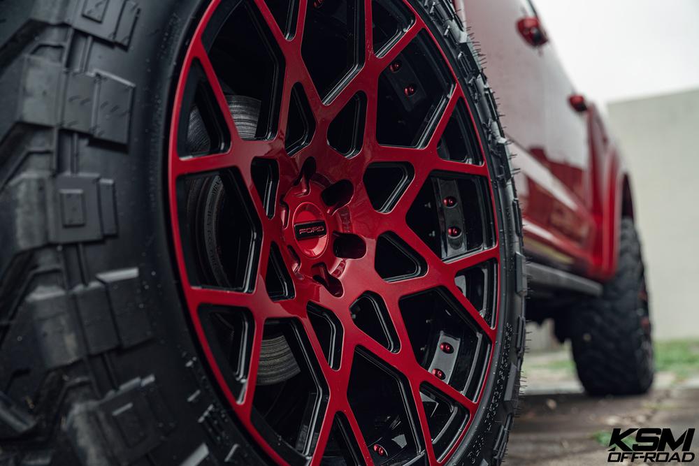 Red Ford Raptor KSM02 15